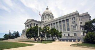国会大厦城市杰斐逊・密苏里状态 库存图片