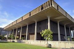 国会大厦夏威夷状态 库存图片