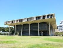 国会大厦夏威夷状态 库存照片