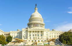 国会大厦大厦在一个夏日 免版税库存图片