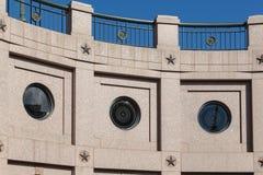 国会大厦大厦在奥斯汀得克萨斯 免版税库存照片