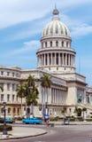 国会大厦大厦,哈瓦那 图库摄影