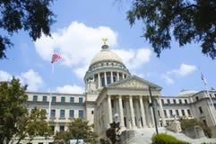 国会大厦密西西比状态 库存图片