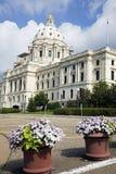 国会大厦开花前状态 免版税库存图片