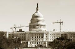 国会大厦恢复 免版税库存图片