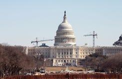 国会大厦恢复 免版税图库摄影