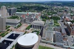 国会大厦新的状态约克 库存照片