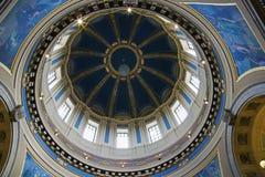 国会大厦明尼苏达保罗st状态 库存照片