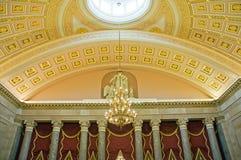 国会大厦最高限额我们华盛顿 库存照片