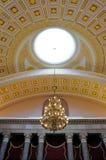 国会大厦最高限额dc我们华盛顿 图库摄影