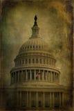 国会大厦构造了我们 免版税库存图片