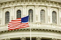 国会大厦标志 图库摄影
