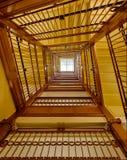 国会大厦楼梯 免版税图库摄影