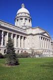 国会大厦法兰克福肯塔基状态 免版税库存照片