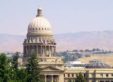 国会大厦爱达荷状态 免版税图库摄影
