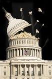 国会大厦玉米花 免版税库存照片