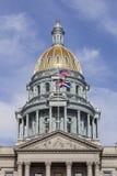 国会大厦科罗拉多状态 库存图片