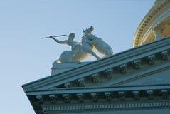国会大厦萨加门多 库存照片