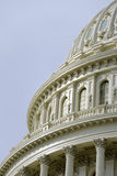 国会大厦详细资料覆以圆顶我们 库存图片