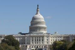 国会大厦远距照相视图 库存图片