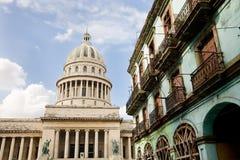 国会大厦,哈瓦那,古巴 免版税库存图片