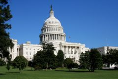 国会大厦 免版税库存照片