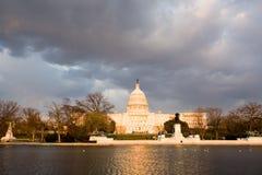 国会大厦 库存照片