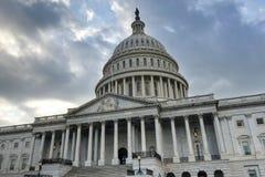 国会大厦dc我们华盛顿 免版税库存图片