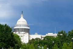 国会大厦dc我们华盛顿 免版税库存照片