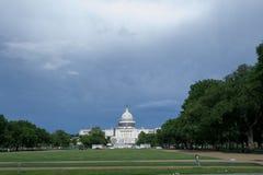 国会大厦dc我们华盛顿 库存照片