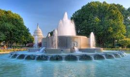 国会大厦dc hdr我们华盛顿 库存照片
