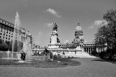 国会广场 免版税图库摄影