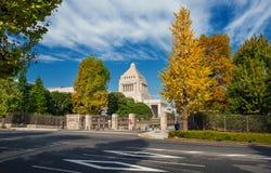 国会议事堂在东京 免版税库存照片