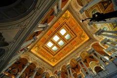 国会dc图书馆华盛顿 免版税图库摄影