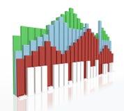 国内市场 免版税库存照片