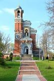 国内教会-地下埋葬室Mirskie,贝耳王子Sviatopolk - 库存照片