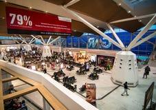 国内机场在新德里,印度 免版税图库摄影
