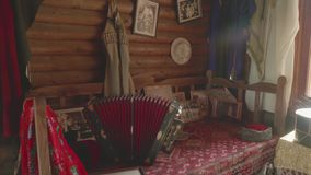 国内生活对象在Kabardian文化博物馆  影视素材