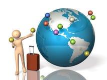 国外旅行内存  免版税图库摄影