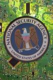 国安局机构 库存照片
