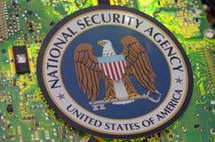 国安局机构 库存图片