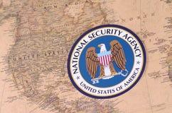 国安局机构 免版税图库摄影
