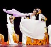 国家中国的舞蹈演员 库存图片