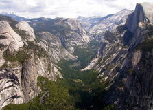 国家公园优胜美地 免版税库存照片