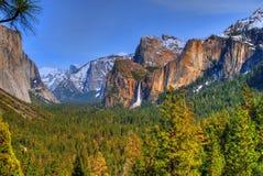 国家公园优胜美地 免版税图库摄影