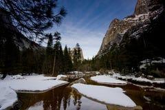 国家公园优胜美地 库存图片