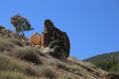 国家公园图卜卡勒峰在摩洛哥 库存照片
