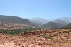 国家公园图卜卡勒峰在摩洛哥 免版税库存照片