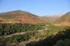 国家公园图卜卡勒峰在摩洛哥 免版税图库摄影