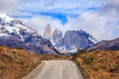 国家公园在南智利 免版税库存照片
